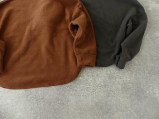 パイルジャーマン起毛ボトルネックラウンドヘムプルオーバーの商品画像27