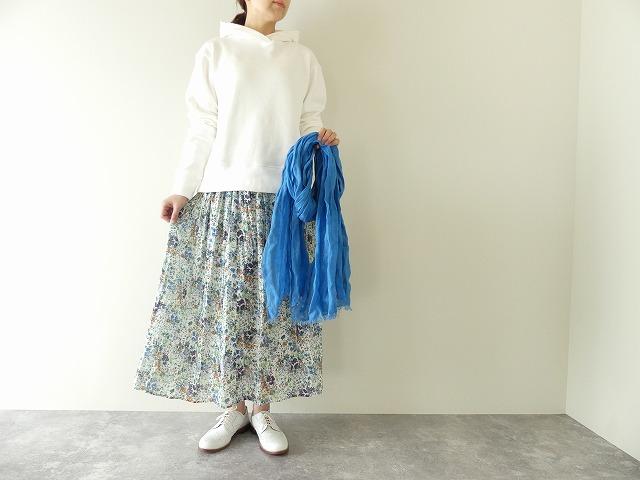 フレンチプリントフレアスカート