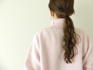 縮絨起毛ウールタートルプルオーバーの商品画像15