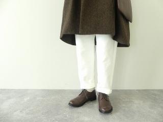 イベリコウールへリンボンツイードスタンドカラーコートの商品画像17