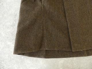 イベリコウールへリンボンツイードスタンドカラーコートの商品画像24
