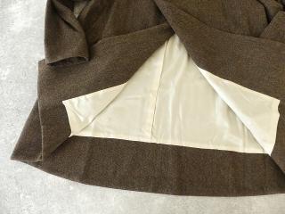 イベリコウールへリンボンツイードスタンドカラーコートの商品画像25