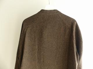 イベリコウールへリンボンツイードスタンドカラーコートの商品画像31