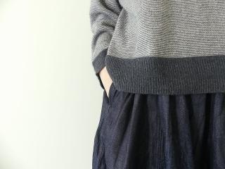 11ozムラデニム裏起毛バルーンスカートの商品画像14