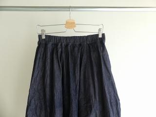 11ozムラデニム裏起毛バルーンスカートの商品画像16