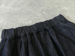 11ozムラデニム裏起毛バルーンスカートの商品画像18