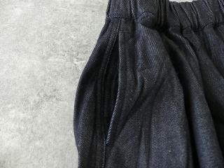 11ozムラデニム裏起毛バルーンスカートの商品画像19
