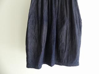 11ozムラデニム裏起毛バルーンスカートの商品画像21
