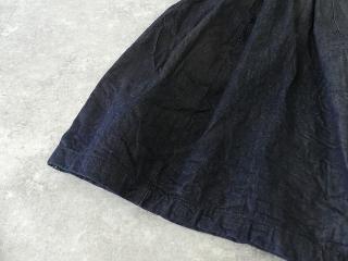 11ozムラデニム裏起毛バルーンスカートの商品画像22