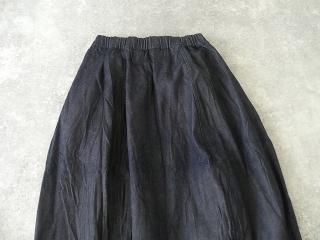 11ozムラデニム裏起毛バルーンスカートの商品画像25