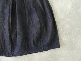 11ozムラデニム裏起毛バルーンスカートの商品画像26