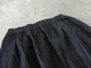 11ozムラデニム裏起毛バルーンスカートの商品画像27
