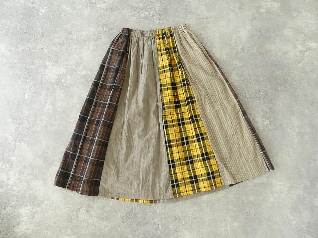 カード天竺パネルシャーリングスカートの商品画像10