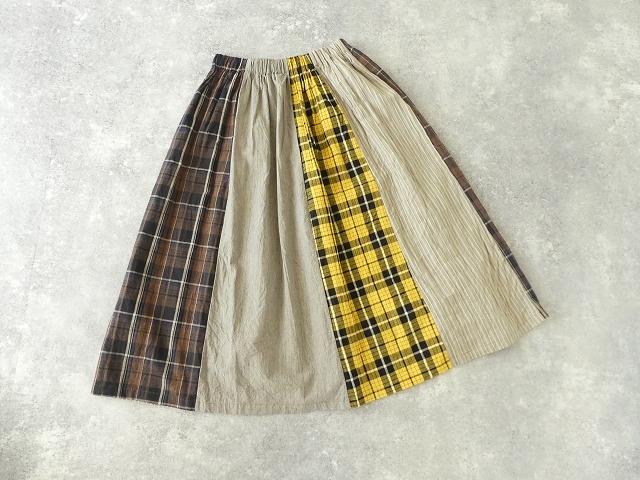 カード天竺パネルシャーリングスカートの商品画像11