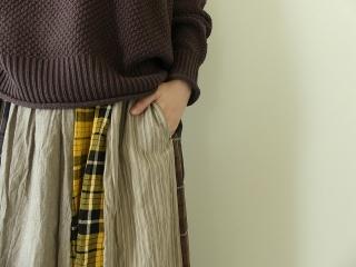 カード天竺パネルシャーリングスカートの商品画像14