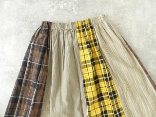 カード天竺パネルシャーリングスカートの商品画像16