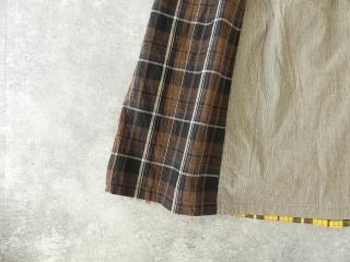カード天竺パネルシャーリングスカートの商品画像17