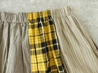 カード天竺パネルシャーリングスカートの商品画像18
