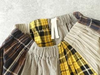 カード天竺パネルシャーリングスカートの商品画像24