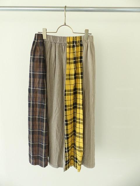 カード天竺パネルシャーリングスカートの商品画像3