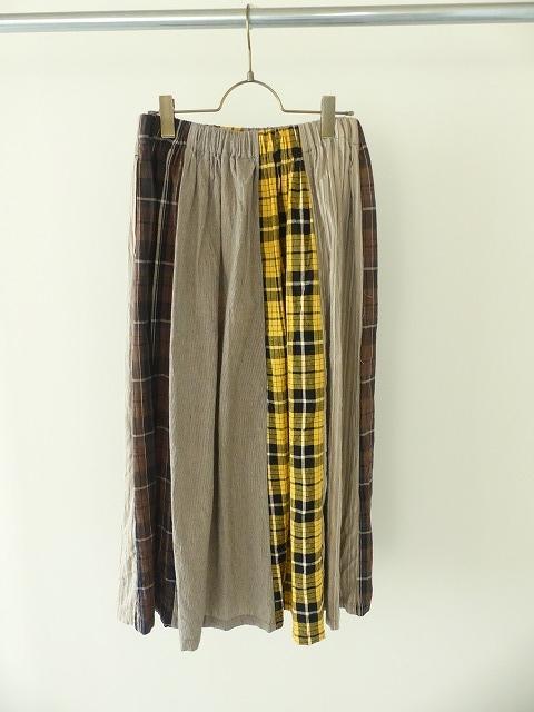 カード天竺パネルシャーリングスカートの商品画像9