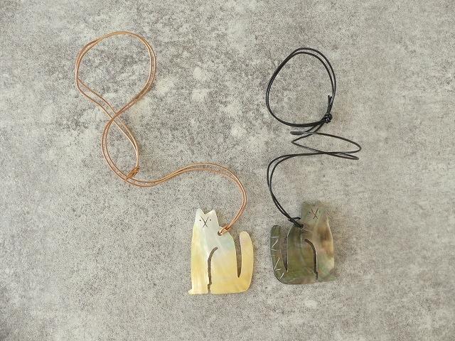 シェルネコネックレスの商品画像1