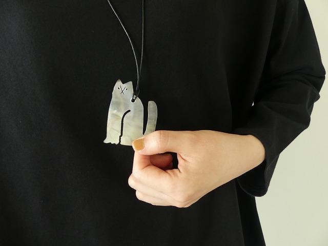 シェルネコネックレスの商品画像3