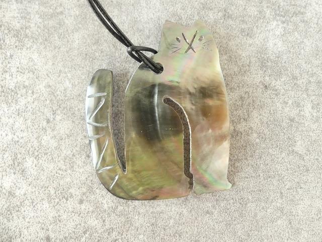 シェルネコネックレスの商品画像8