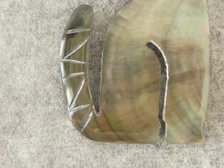 シェルネコブローチの商品画像16