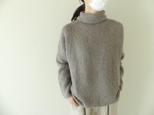alpaca wool turtleneckの商品画像2