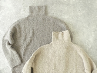 alpaca wool turtleneckの商品画像20