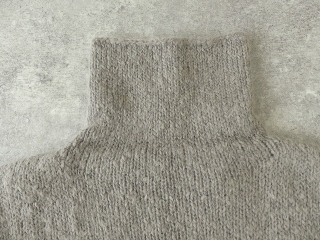 alpaca wool turtleneckの商品画像22