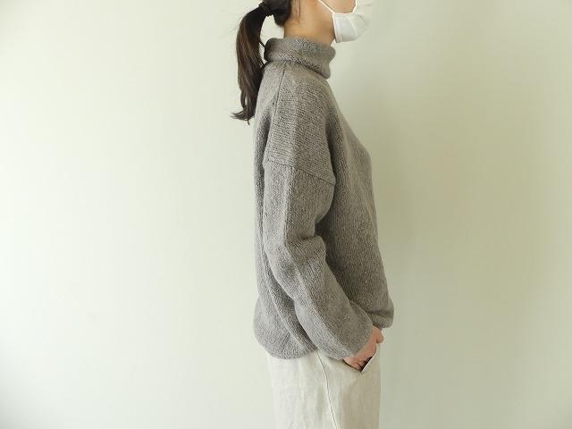 alpaca wool turtleneckの商品画像4