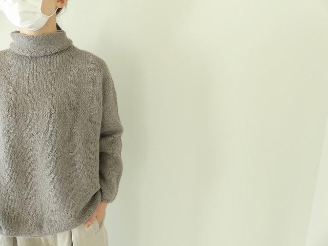 alpaca wool turtleneckの商品画像6