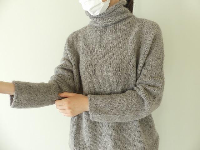 alpaca wool turtleneckの商品画像9