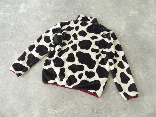牛柄フリーススナップTの商品画像10
