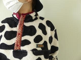 牛柄フリーススナップTの商品画像14