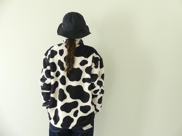 牛柄フリーススナップTの商品画像7