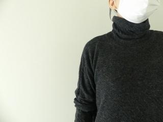 ウール綿接結タートルネックワイドプルオーバーの商品画像14