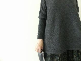 ウール綿接結タートルネックワイドプルオーバーの商品画像16