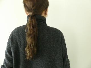 ウール綿接結タートルネックワイドプルオーバーの商品画像17