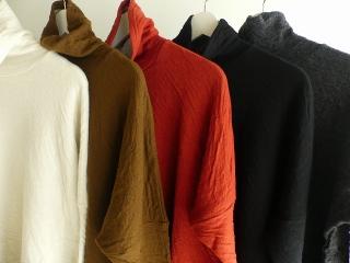 ウール綿接結タートルネックワイドプルオーバーの商品画像18