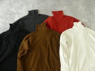 ウール綿接結タートルネックワイドプルオーバーの商品画像19