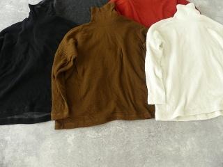 ウール綿接結タートルネックワイドプルオーバーの商品画像23