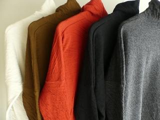ウール綿接結タートルネックワイドプルオーバーの商品画像28