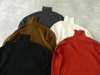 ウール綿接結タートルネックワイドプルオーバーの商品画像30