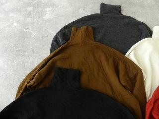ウール綿接結タートルネックワイドプルオーバーの商品画像31