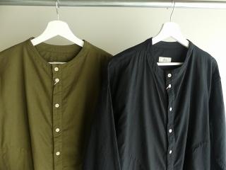 ビエラピッチワッシャースタンドカラーワイドシャツの商品画像18