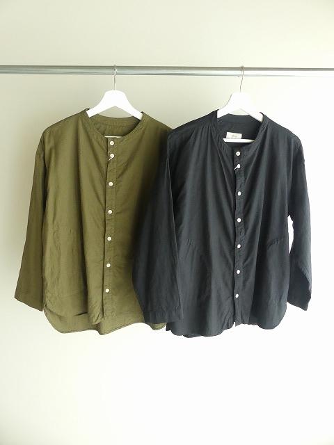 ビエラピッチワッシャースタンドカラーワイドシャツの商品画像2