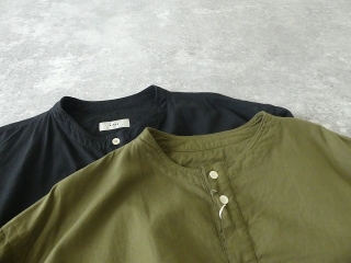 ビエラピッチワッシャースタンドカラーワイドシャツの商品画像20